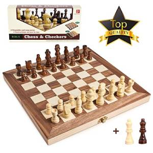 15 Inches Wooden Chess Set