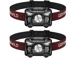 2 Pack of Rechargeable Headlamp