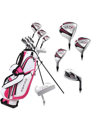 Aspire X1 Ladies Womens Complete Right Handed Golf Clubs Set