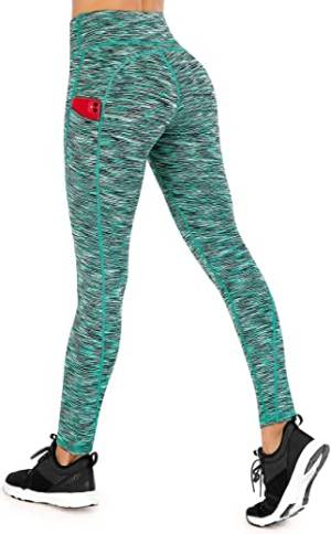 High Waisted Leggings for Women with Pockets
