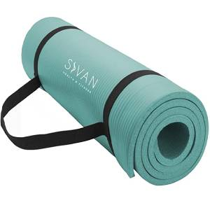 Sivan Health and Fitness 12-InchExtra Thick 71-Inch Long NBR Comfort Foam Yoga Mat